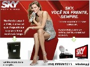 Sky hdtv banda larga e tv por assinatura